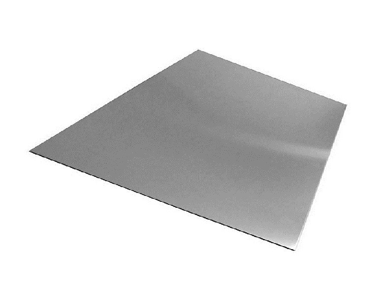 Лист алюминиевый плоский гладкий