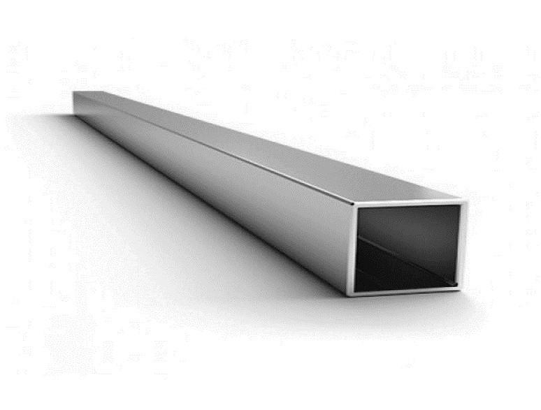 Труба квадратная алюминиевая