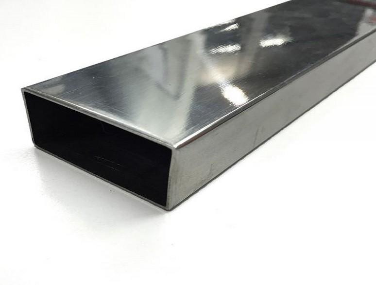 труба прямоугольная (зеркальная) нержавейка
